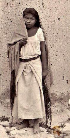 """""""Mujeres deMéxico"""" Oaxaca, México[1920]"""