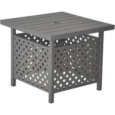 if you donu0027t want to spend a lot of money on an umbrella standside table make your own decor pinterest diy patio patio umbrellas and patios