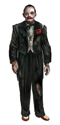 Sander Cohen concept art from Bioshock. Bioshock Game, Bioshock Series, Bioshock Splicer, Bioshock Artwork, Hector Rodriguez, Sander Cohen, Bioshock Cosplay, Bioshock Infinite, Videogames