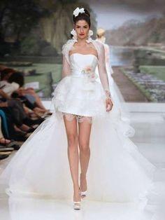 Abiti da sposa corti, modelli 2015 - Minidress Atelier Aimèe