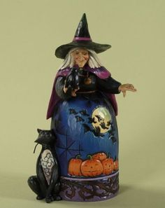 Jim Shore Halloween Figurines