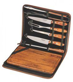 Kit para Churrasco 8 peças Polywood Tramontina 21198465