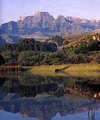 The Almighty Drakensberg Mountains in South Africa