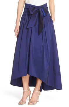 Eliza J High/Low Taffeta Ball Skirt available at #Nordstrom