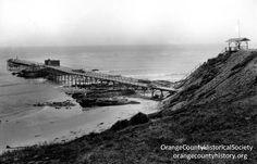 The Laguna Beach Pier on Victor Hugo Point (north of Main Beach). Yes, there used to be a pier in Laguna Beach. www.jeffreymarkell.com #orangecountyrealtor #jeffforhomes #luxury