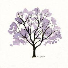 Ana Oliveira ilustrações, desenhos e outras coisas...: Porque as árvores não são só verdes