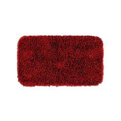 Garland Rug Bentley Shag Bath Rug - 30'' x 50'', Red