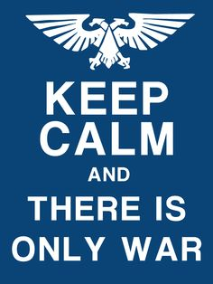 Imperial Keep Calm Poster for my Imperial scenery pieces