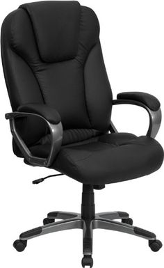 Flash Furniture BT9066BKGG High Back Black Leather Executive Office Chair *** Check out this great product.Note:It is affiliate link to Amazon.