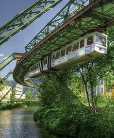 Wuppertal Germany, Places Around The World, Around The Worlds, Beautiful World, Beautiful Places, Rail Europe, S Bahn, North Rhine Westphalia, Train Tickets