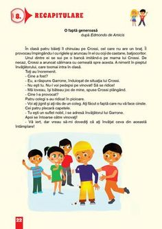 Romanian Language, 4 Kids, Kids And Parenting, My Boys, Homeschool, Therapy, Teacher, Activities, Literatura