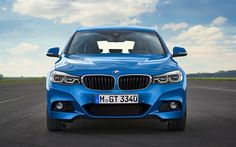 Download wallpapers BMW 3 Series Gran Turismo, 2018, F34, front view, new cars, Gran Turismo, BMW