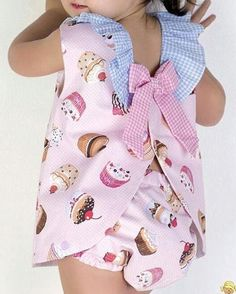 Baby products for adults children 30 best Ideas Cute Kids Fashion, Baby Girl Fashion, Little Girl Dresses, Girls Dresses, Baby Girl Patterns, Baby Sewing Projects, Diy Dress, Kids Outfits, Marie