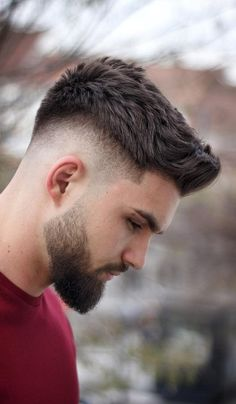 15 Popular Side Fade Haircuts For Men To Try In 2019 frisuren männer Mens Hairstyles Fade, Cool Hairstyles For Men, Undercut Hairstyles, Haircuts For Men, Mens Fade Haircut, Men Hairstyle Short, Undercut Short Hair, Dapper Haircut, Popular Mens Hairstyles