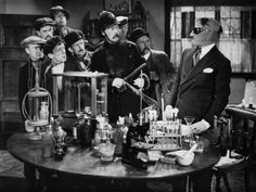 Vintage Lab Week: The Invisible Man H. Wells' The Invisible Man made it to … Vintage Lab Week: The Invisible. Hollywood Monsters, Claude Rains, Abbott And Costello, Classic Horror Movies, Horror Film, Invisible Man, Famous Monsters, Classic Monsters, Man Movies
