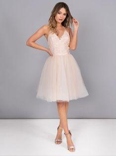 dff2c8103c0 Chi Chi Petite Leyla Tulle Skirt Dress