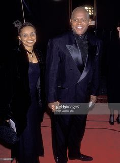 Actress Debbi Morgan and Actor Charles S. Dutton attend the 19th Annual People's Choice Awards on March 9, 1993 at Universal Studios in Universal City, California.