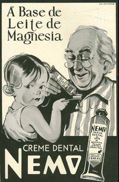 Iba Mendes: Anúncio antigos de creme dental - III