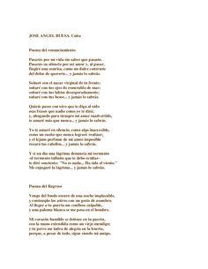 """poemas. Jose Angel Buesa """"...Pasarás por mi vida sin saber que pasaste...y jamás lo sabrás...."""