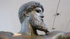 Fotografía: Rebeca Pizarro - Museo Arqueológico- Estatua de Poseidón (del Cabo Sounio) - Atenas