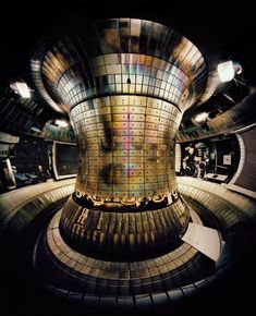 Thomas Struth, Tokamak Asdex Upgrade Interior 1, Max Planck IPP Garching 2010