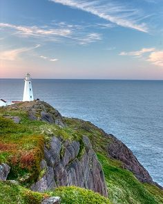 """coiour-my-world: """" Cape Spear lighthouse, Newfoundland ~ by Geoff Whiteway """" Newfoundland Canada, Newfoundland And Labrador, Wonderful Places, Beautiful Places, Costa, Canadian Travel, Atlantic Canada, Parks Canada, Le Moulin"""