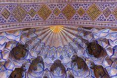 Gur-e Amir (Guri Amir, گورِ امیر) Mausoleum, Samarkand (Samarqand, Самарқанд, سمرقند), Uzbekistan (O'zbekiston, Ўзбекистон), via Flickr.