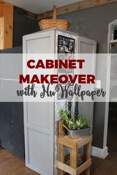 Cabinet Makeover wit