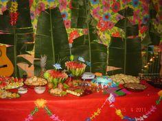 Resultado de imagem para imprimir convites de aniversário tema havai