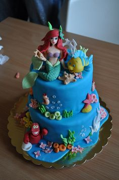 Ariel the little mermaid cake | Rumyana Traykova | Flickr
