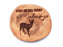 http://pl.dawanda.com/shop/beAWESOMElab #wood#slice#gift#cup#home#decor