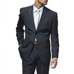 Haggar Classic-Fit Charcoal Pinstripe Suit Jacket  Kohls  MensFashion   Menssuits Blazers For bb5b1c0a17