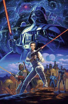 A Arte Do Cinema: Star Wars, da Editora Europa, está à venda - UNIVERSO HQ