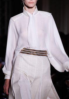 b9324080fa1 Yves Saint Laurent Chanel, Textile Patterns, White Tops, Ysl, Fashion Show,