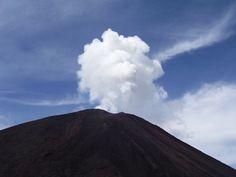 Antigua es una ciudad rodeada de volcanes.
