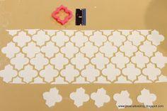 Jessica Harris Cake Design: Moroccan Cake + A Wafer Paper Flower Tutorial