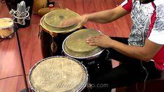 Clases de percusiones - Ritmo de Guaguanco con congas
