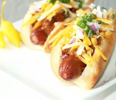 Spicy Chili Cheese Dogs