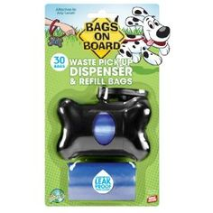Bags on Board Bone Dispenser with 30 Refill Bags. You have to pick up after your Beagle.