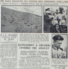 d-day landing timeline