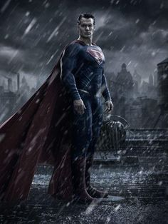 The first sighting of Henry Cavill in Zack Snyder's anticipated sequel 'Batman V. Superman: Dawn of Justice'