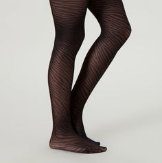 Queen Jacquard Pattern Tights