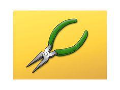 Utiliser des pinces - Outillage et fournitures - Livios Wire, Tools, Work Gloves, Scissors, Appliance, Cable
