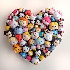 Tsum Tsum Heart ❤️❤️