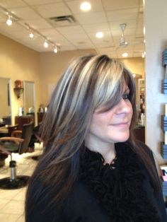 beautiful bold blonde highlights