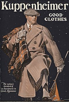 Kuppenheimer Good Clothes, Joseph Christian Leyendecker