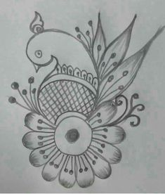 New fashion drawing design simple ideas Henna Tattoo Designs Simple, Mehndi Designs Book, Mehndi Designs For Beginners, Mehndi Designs For Girls, Mehndi Design Pictures, Rangoli Designs, Embroidery Motifs, Hand Embroidery Designs, Henna Drawings
