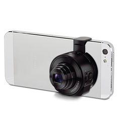 The Smartphone to Telephoto Camera Converter - Hammacher Schlemmer