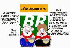 Sponholz: Lula & Dilma de chapéu na mão!