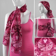 bandana-warrior in pink